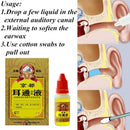 15ml Ear Acute Otitis Drops Chinese Herbal Medicine for Ear Tinnitus Deafness Sore Personal Health Care Products