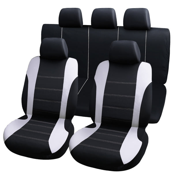 9pcs universal car seat covers auto protect covers automotive seat covers fo kalina grantar  lada priora renault logan