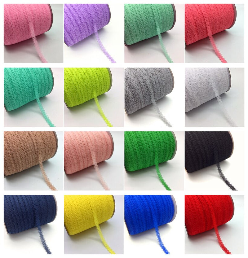"10yards/lot 5/8"" (15mm) Lace Ribbon Bilateral Handicrafts Embroidered Net Lace Trim Fabric Ribbon DIY Sewing Skirt Accessories"