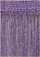 3x2.6m String Curtain Shiny Tassel Line Curtains Window Door Divider Drape Living Room Decor Valance