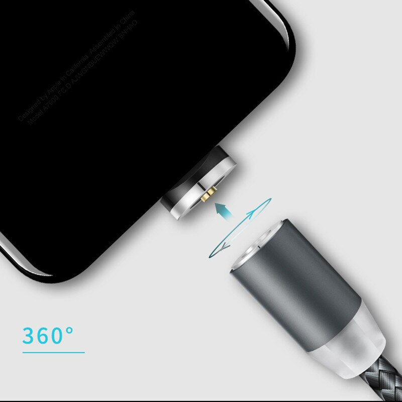 Micro Type-C USB For Huawei P Smart 2019 P20 Pro P30 Lite Y9 Y5 Y6 Y7 Prime 2019 Magnetic Charge Cable Honor 10 9 8A 8X 8S 8C