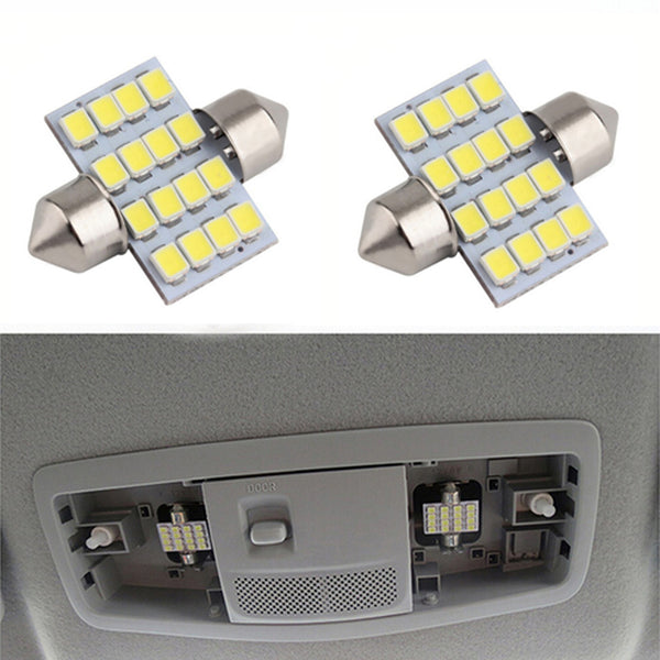 4 pieces High Brightness White LED Reading Lights Dome Lamp For Mitsubishi ASX Outlander 2012 2013 2014 2015