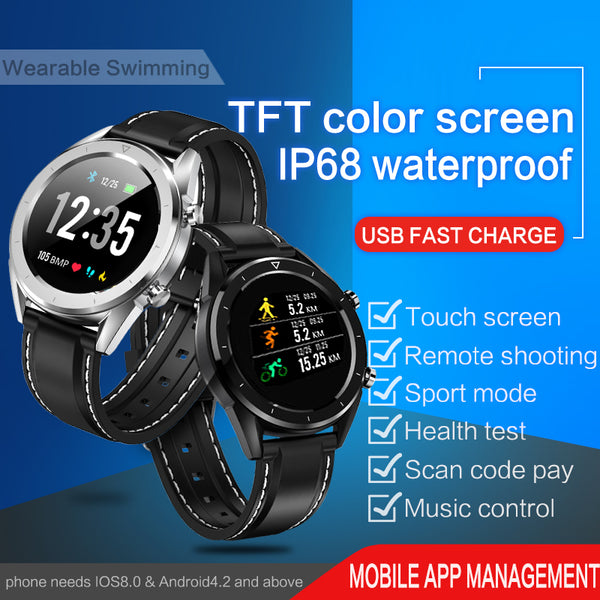 Smart Watch KSUN KSR901 Bluetooth Android/IOS Phones 4G Waterproof GPS Touch Screen Sport Health