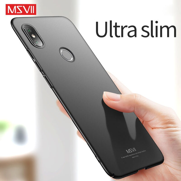 MSVII Phone Cases for Xiaomi Mi 8 Case Cover for Xiaomi Mi 8 lite Matte Hard Coque for Mi8/Mi8 Lite Ultra-thin Anti-fingerprint