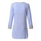 Women's Long Sleeve Button Nursing Nightie Stripes Maternity Breastfeeding Dress hamile gecelik maternity hot pajamas nightwear