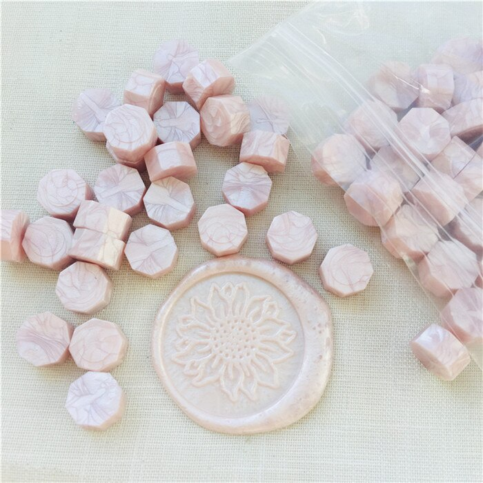 100pcs Pearl White Wseal stamp wax Vintage Wax Seal Stamp Tablet Pill Beads for Envelope Wedding Wax Seal Ancient Sealing Wax