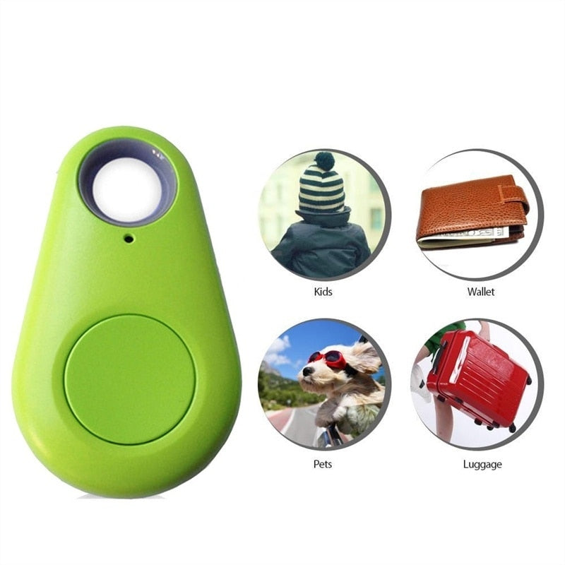 Mini Fashion Bluetooth 4.0 Tracker GPS Locator Tag Alarm Wallet Key Pet Dog Tracker Anti-lost Pocket Size Smart Tracker