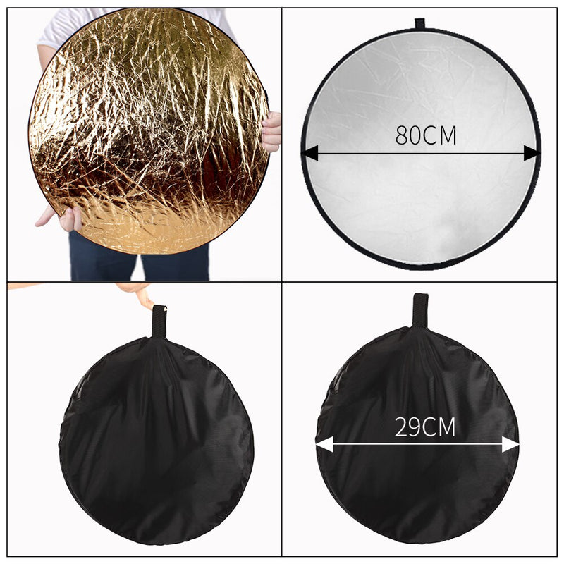 Photography Photo Studio Softbox Lighting Kit With 2.6x3M Background Frame 3pcs Backdrops Tripod Stand Reflector Board 4Umbrella