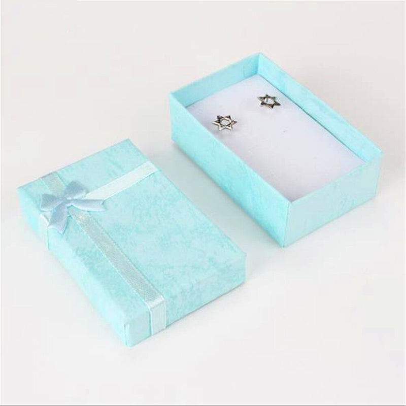 Romantic Jewellery Gift Box Pendant Case Display For Earring Necklace Ring Watch Beauty Jewelry Box