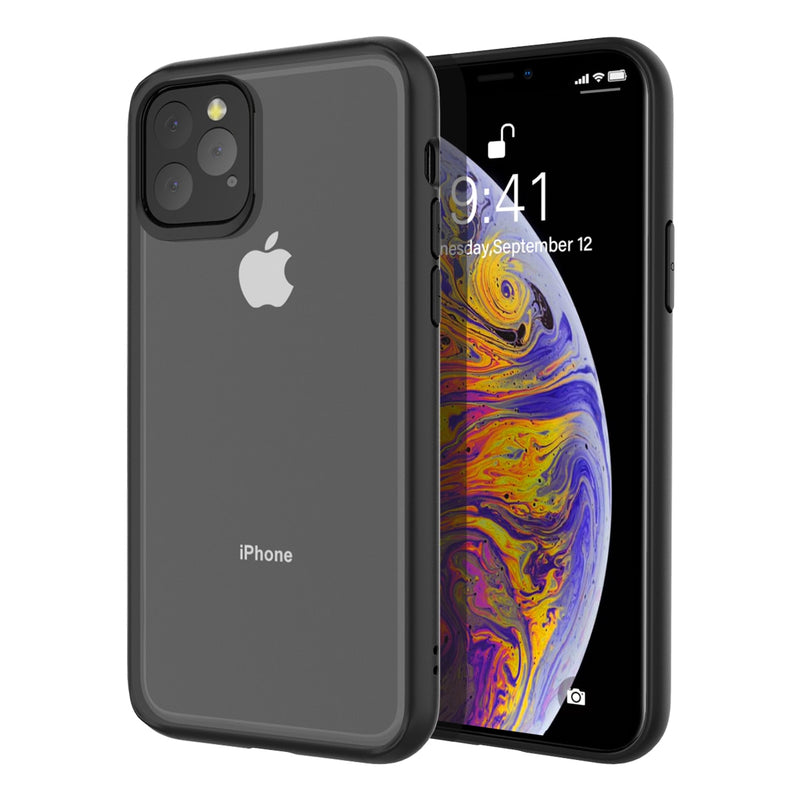 For iPhone 11 11 Pro 11 Pro Max Case Clear Hybrid TPU+PC Transparent Silicone Bumper Shockproof Cover for iPhone 11 XI 2019 Case