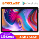 Newest 2.5D Tablets Teclast T30 Andriod 9.0 tablet PC 10.1inch 4GB RAM 64GB ROM 4G Phone Call 8000mAh Dual Camera GPS Type-C
