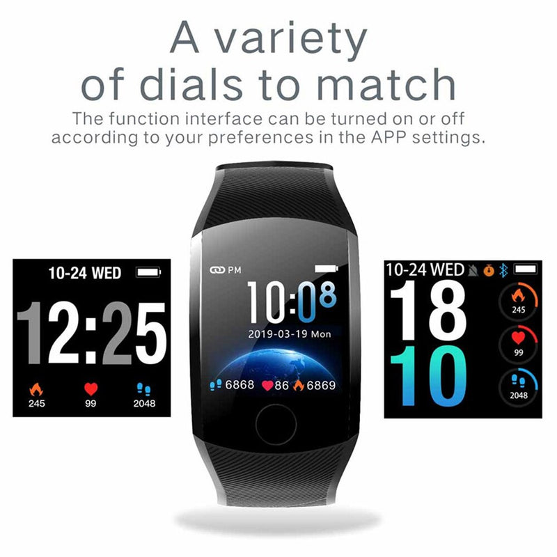 Q11 Smart Bracelet with Color Screen Waterproof Fitness Blood Pressure Monitoring