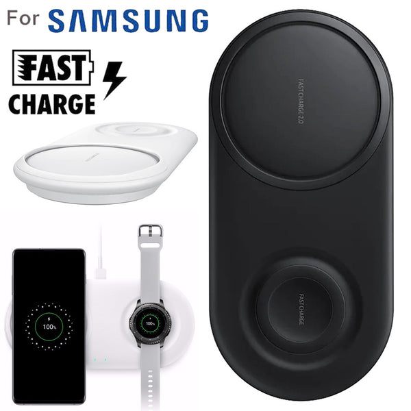 Wireless Charger 2 in 1 Fast Charging Phone Charger Pad For Samsung Galaxy S10/S10+/Watch S2/3 Fast Charger Quick Charge Type C