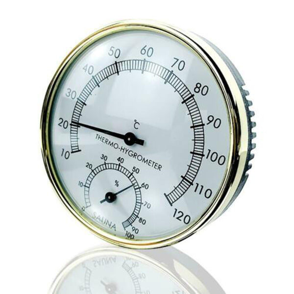 Wall Mounted Thermometer Hygrometer Case Steam Sauna Room Measurement And Analysis Instruments Swimming Pool Hot Tubs