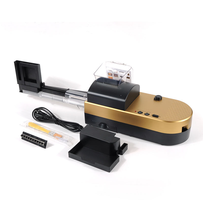 2019 New High Grade Electric Cigarette Automatic Cigarette Rolling Machine Roll DIY Smoking Tool  5-8 minutes for 50 cigarettes