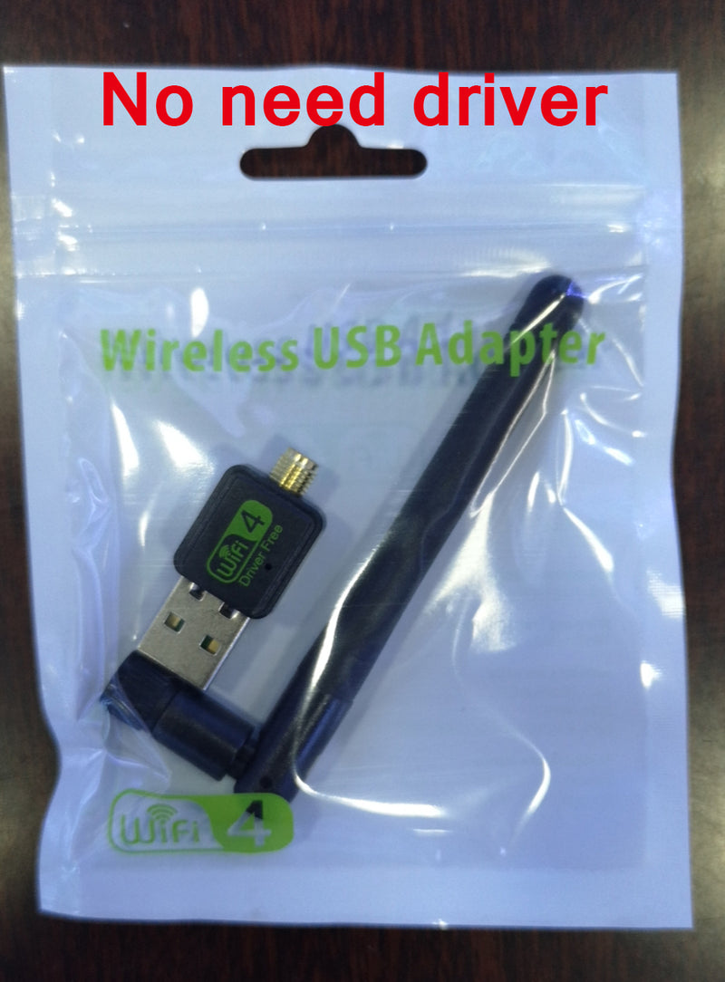 Mini Network Card USB WiFi Adapter 150mbps 2dBi Wi-Fi adapter PC Wi Fi Antenna WiFi Dongle 2.4G USB Ethernet WiFi Receiver