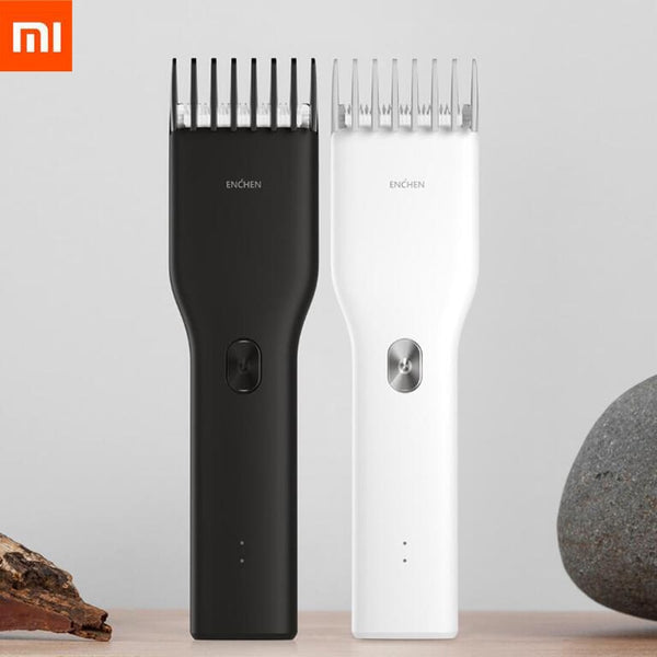 in Stock Xiaomi Enchen Boost USB Electric Hair Clipper Two Speed Ceramic Cutter Hair Fast Charging Hair Trimmer Children