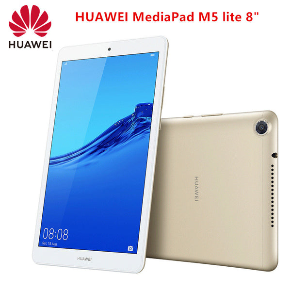 "Original HUAWEI Mediapad M5 lite 8"" Tablet 3GB 32GB Android 9 Hisilicon Kirin 710 Octa Core 8MP 13MP 1200 x 1920 5100mAh IPS"