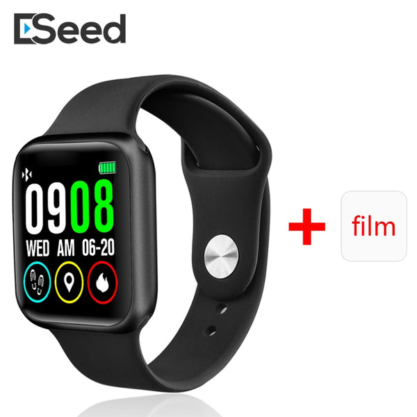 ESEED P90 smart watch men IP68 waterproof full touch screen support wireless charging P80 P70 P68  smartwatch Update version