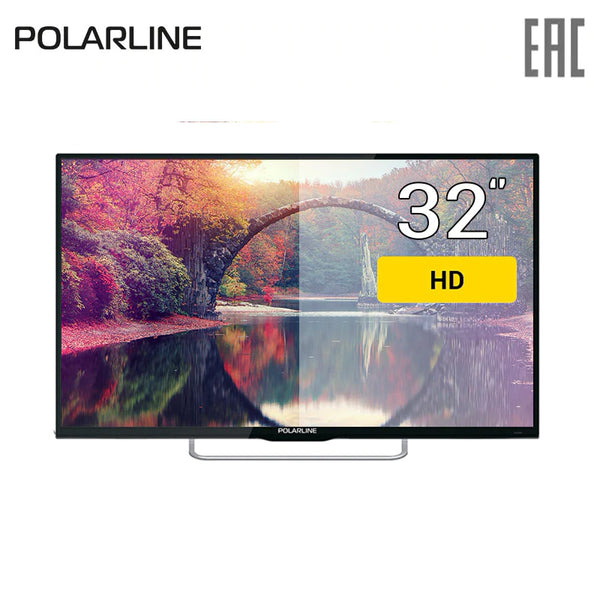 "TV 32"" POLARLINE 32PL12TC HD 3239inchTV DVB-T dvb-t2 DVB-C digital"