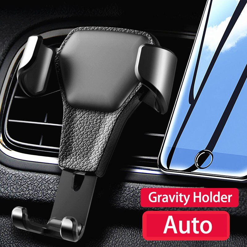 Car GPS Phone Holder Fixed Smartphone Gravity Stand Universal Phone In Car Bracket Non-magnetic Mobile Stand