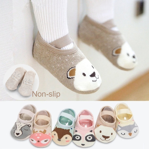 MOLIXINYU Cotton Baby Boy Girl Socks Floor Socks Cartoon Baby Children Animal Socks Spring And Summer Autumn Floor Socks