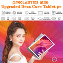 Teclast M30 10.1inch Deca Core Dual 4G Phone Tablets 2560 x 1600 2.5k 4GB RAM 128GB ROM MT6797 X27 GPS  Android 8.0 Tablet PC