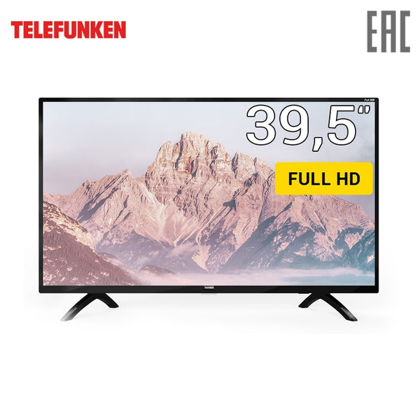 "TV 40"" Telefunken TF-LED40S01T2 FullHD 4049inchTV dvb dvb-t dvb-t2 digital"
