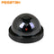 Outdoor / Indoor Video Surveillance Camera Fake Home Dome Dummy Camera with Flashing red LED Light CCTV Security camera