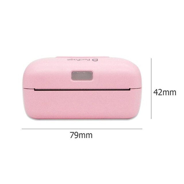 VODOOL Bluetooth 4.0 Printer Portable Wireless POS Thermal Photo Printer Phone Wireless Connection Printer Office Electronics