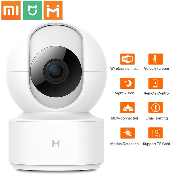 XiaoMi Mijia 1080P PTZ HD Wireless IP Camera Cloud Wifi Cam Two Way Audio Smart Auto Tracking Human Home Security Surveillance
