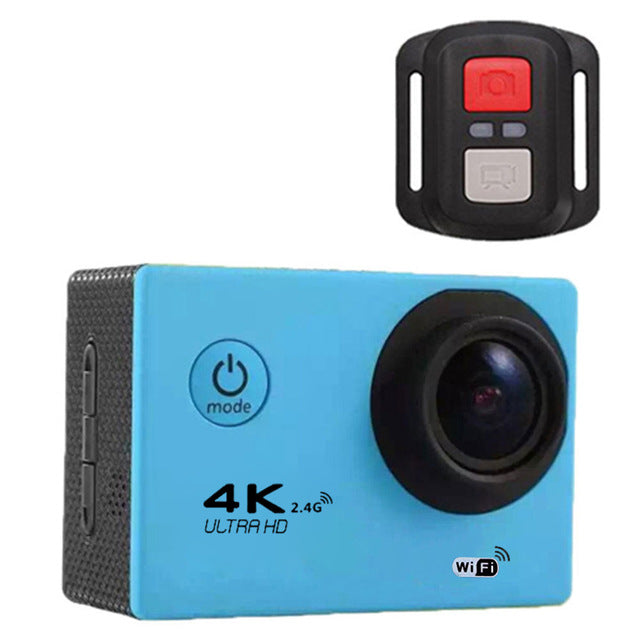 G53ER Sports Action Camera with WiFi  TFT Display 170 Degree Wide Angle 30m Waterproof Diving DV Camcorder Video DVR