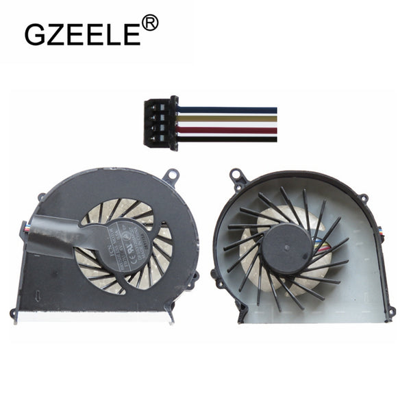 New Laptop cpu cooling fan for HP for Compaq CQ58 CQ57 G58 G57 650 655 Laptops Component Cpu Cooler Fan Notebook Computer