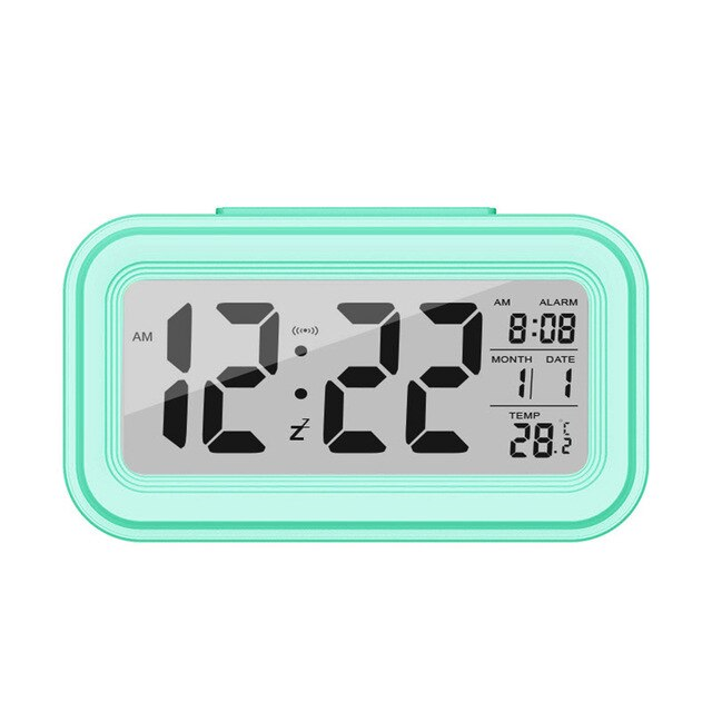 Electronic Table clocks Hot sale Large LED Digital Alarm Clock Temperature Display For Home Office Travel Desk Decoration Clock