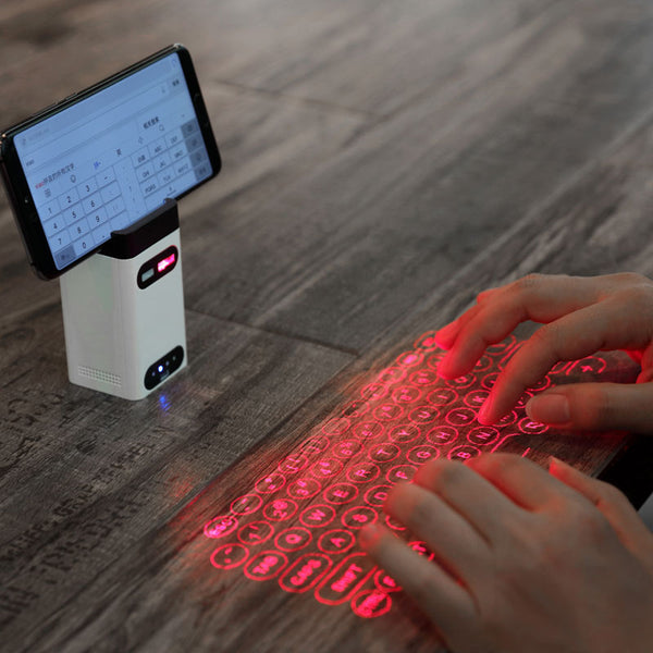 LeIng FST Bluetooth virtual laser keyboard Wireless Projector keyboard for computer Phone pad Laptop With Mouse function