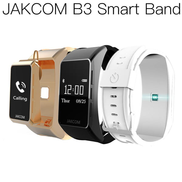 JAKCOM B3 Smart Watch Super value as saturimetro professionale play 4t band 4 wristbands pedometer 10 bad usb