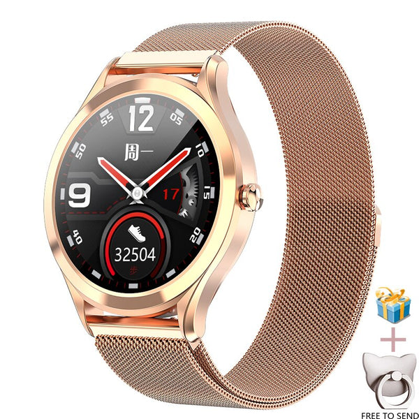 2020 MK10 Smart Watch Men Women Step Heart Rate Blood Pressure Exercise  IP67 Waterproof Smartwatch Compatible Android Ios