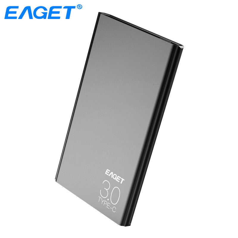 "Eaget External Hard Drive 1TB HDD Type C 3.0 Externo Disco Storage Devices Laptop 2.5"" Ultra-thin High Speed 3.1 Hard Disk 1tb"