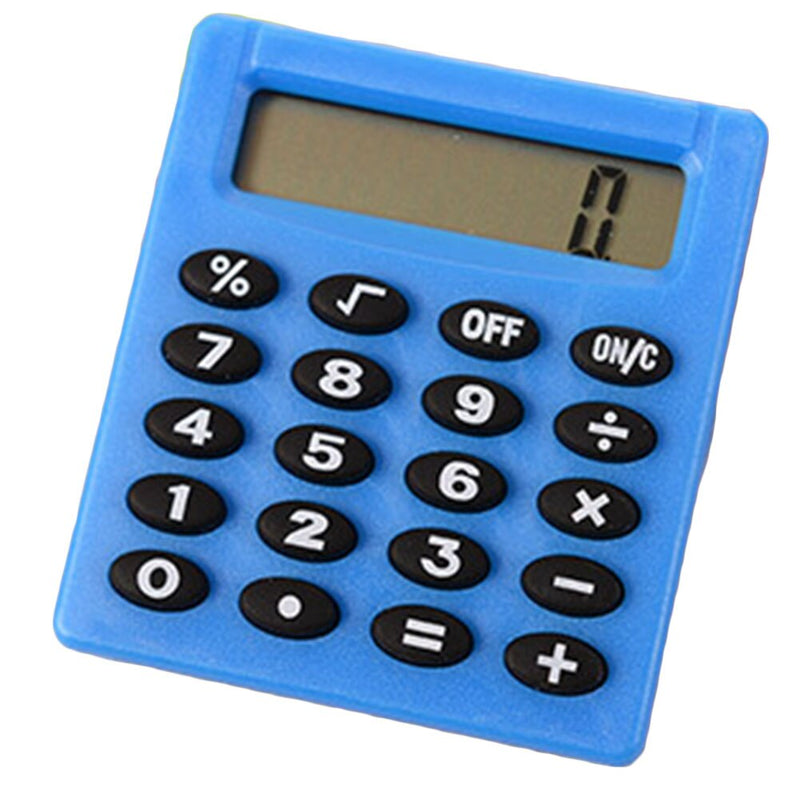 Candy Color Calculating Student  Electronic Calculator Office Supplies Digits Display Calculator