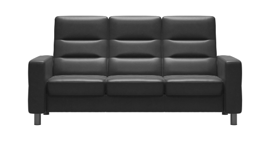 Wave 3 Seater High Back