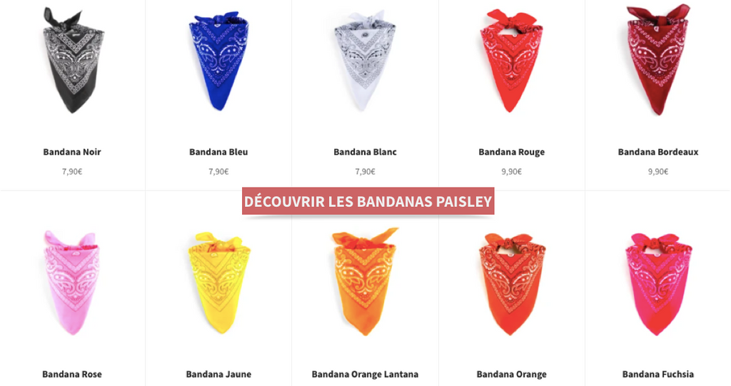 boutique de bandana
