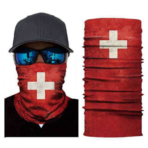 Foulard Moto<br> Suisse - Bandana District