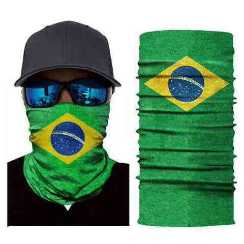 Foulard Moto<br> Brésil - Bandana District
