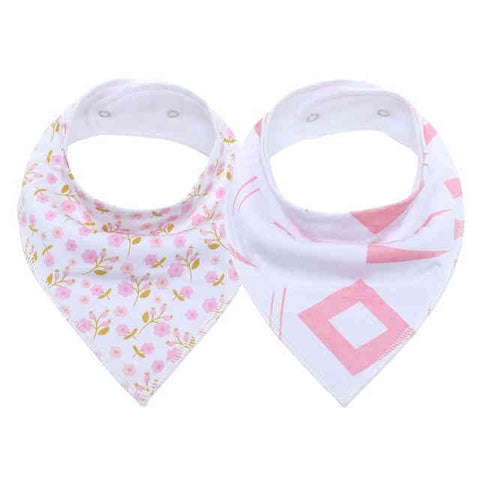 Bavoir Bandana <br> Fille à Fleurs - Bandana District
