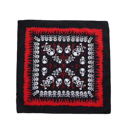 Bandana Pirate<br> Rouge & Noir - Bandana District