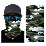 Foulard Moto<br> Camouflage - Bandana District