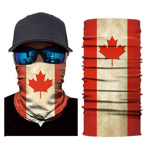 Foulard Moto<br> Canada - Bandana District