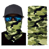Foulard Moto<br> Camouflage Clair - Bandana District