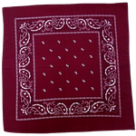 Bandana Homme<br> Bordeaux - Bandana District