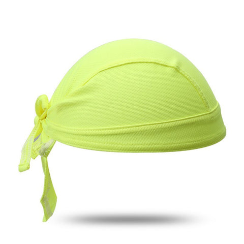 Bandana Sport<br> Jaune - Bandana District
